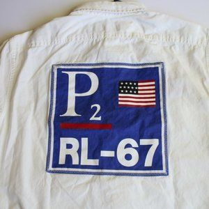 Polo CP 93 Regatta 1 Patch White RL-67 Shirt (S)